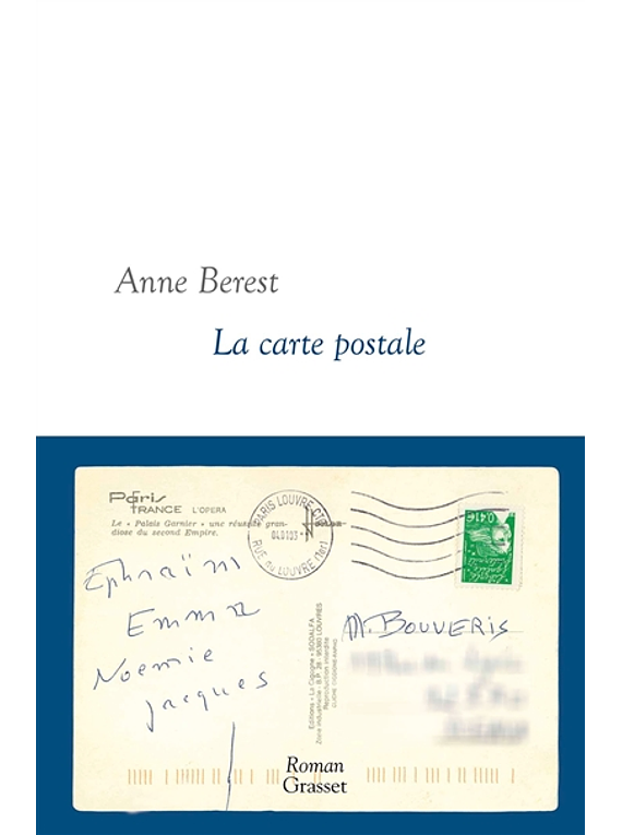 La carte postale, de Anne Berest