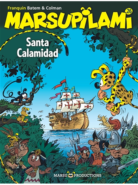 Marsupilami - Santa Calamidad, de Colman, Batem et Franquin