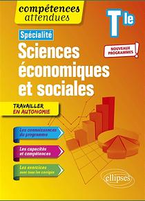 Spécialité Sciences économiques et sociales - Terminale