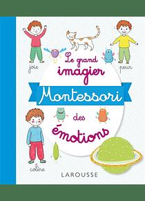 Le grand imagier Montessori des émotions