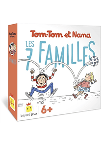 Jeu 7 familles de Tom-Tom et Nana