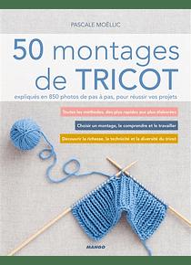 50 montages de tricot, de Pascale Moëllic