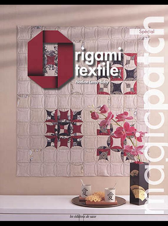 Origami textile, de Nadine Leroy-Bohy