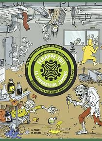 Echappe-toi ! Le laboratoire zombie - Livre escape game