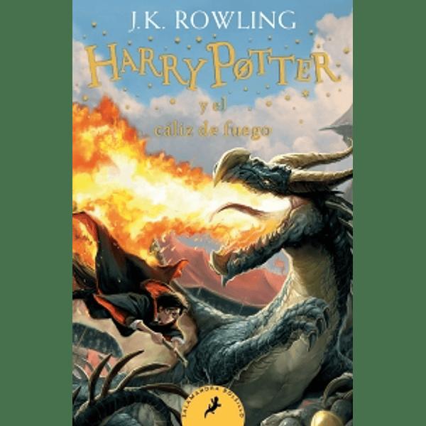 Harry Potter y el Cáliz de Fuego (Harry Potter 4-Debolsillo)