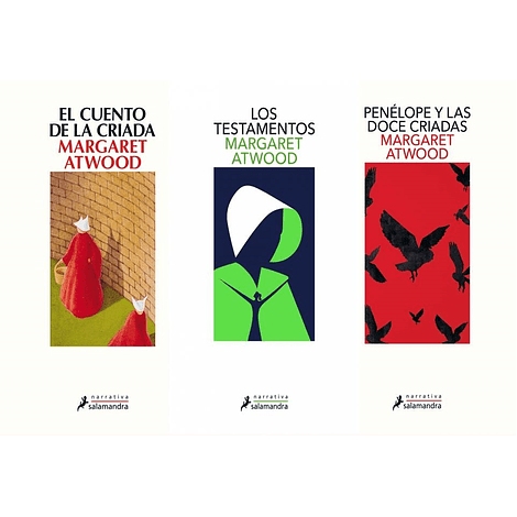 Pack Libros Margaret Atwood