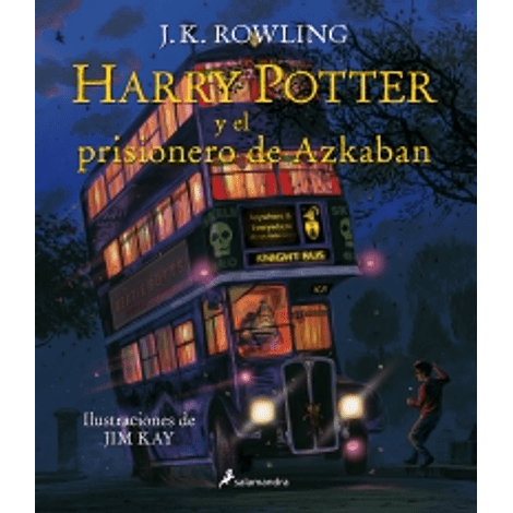 Harry Potter y el prisionero de Azkaban (Ed. Ilustrado - tapa dura - Harry Potter 3)