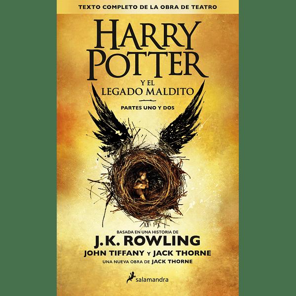 Harry Potter y el legado maldito (Harry Potter 8) - J. K. Rowling