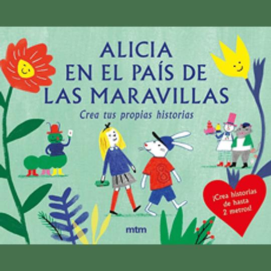 Caja Alicia En El Pais De Las Maravillas - Crea Tus Propias Historias
