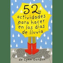 52 Actividades Para Hacer En Los Dias De Lluvia (Baraja)