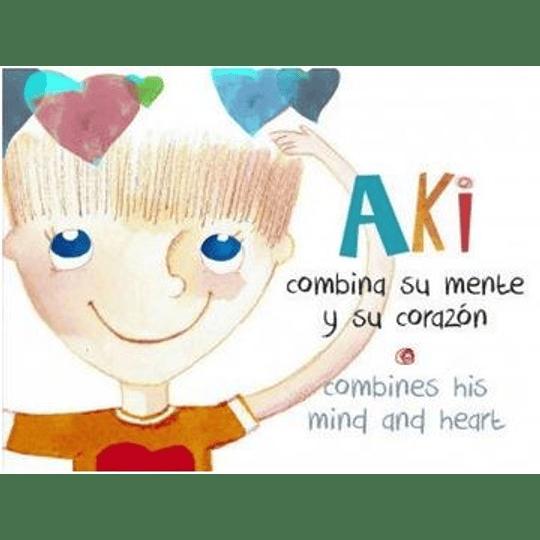 Aki Combina Su Mente Y Su Corazon (Combines His Mind And Heart)