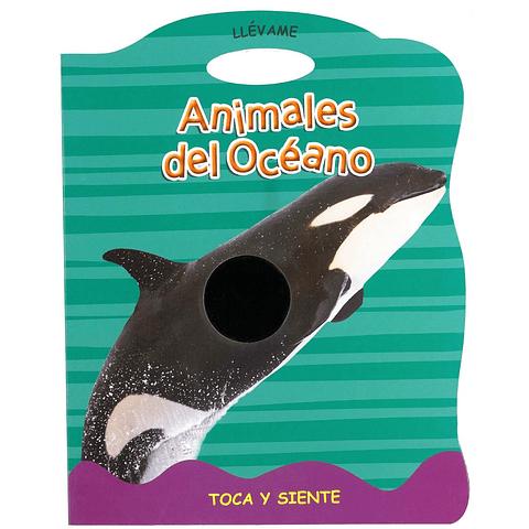 Animales del océano toca y siente