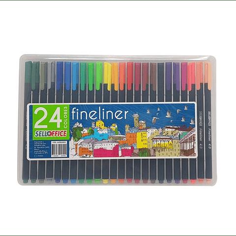 Fineliner 24 colores selloffice