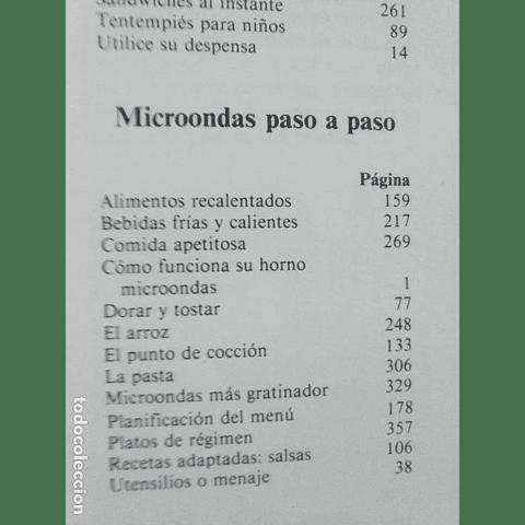 Manual del microondas x 5 tomos