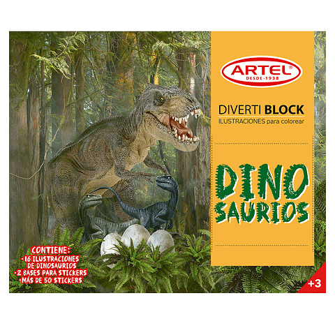 Diverti block Dinosaurios