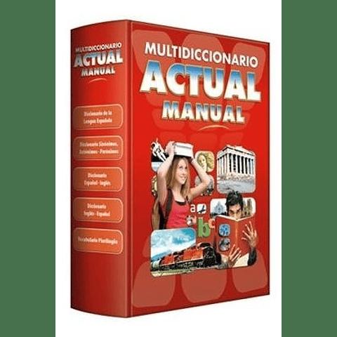 Multidiccionario Actual Manual
