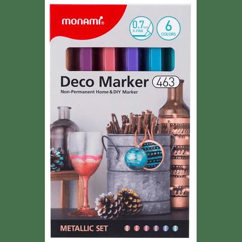Deco Marker 463 metalic
