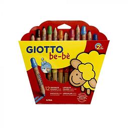 Lapiz bebe 12 colores Giotto