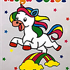 Libro mega color unicornios