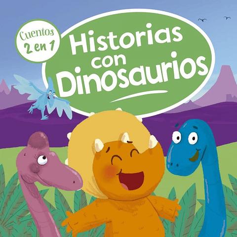 2 cuentos en 1 historias con dinosaurios