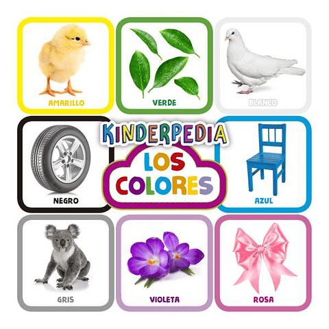 kinder Media los colores