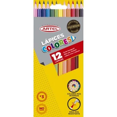 Lapices 12 colores