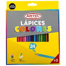 Lapices  24 colores