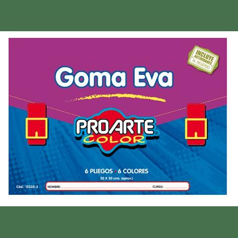 Block goma eva