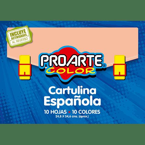 Block cartulina española