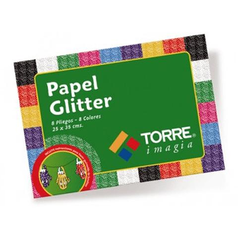 Block papel glitter