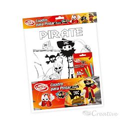 Bastidor para pintar pirata