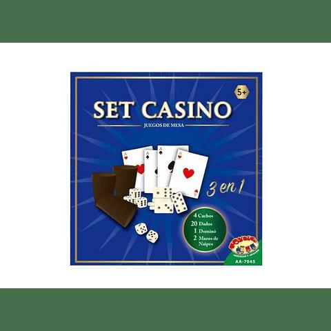 set casino 3 en 1