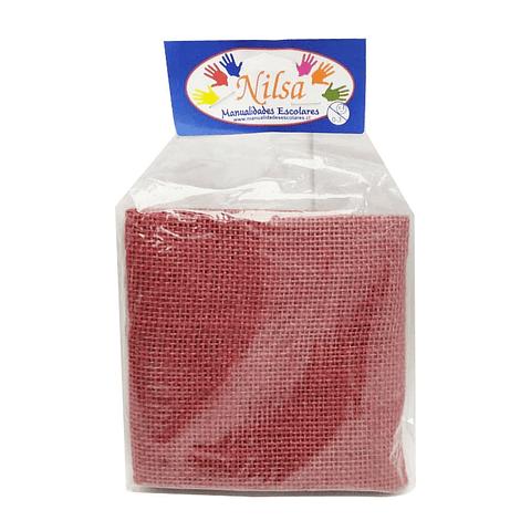 Arpillera roja