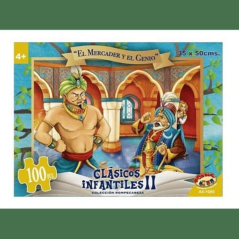 Puzzle 100 Pzs El Mercader y el genio