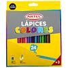 Lápiz 24 colores artel