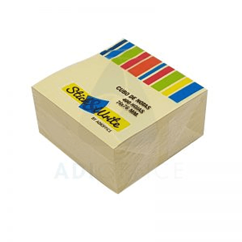 Post it 76x76  400 hojas
