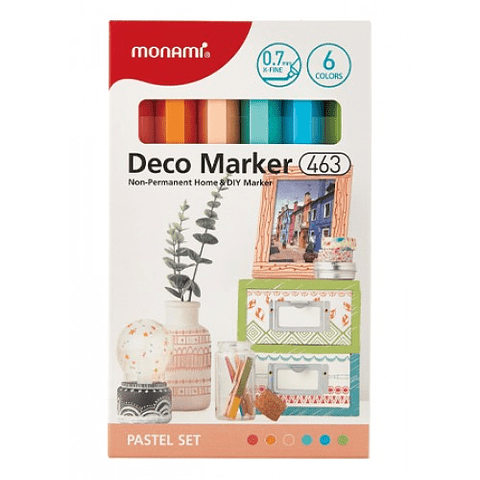 Deco Marker 463 pastel