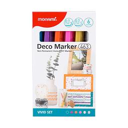 Deco marker 463 vivis set