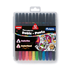 Set Brush Pen 12 Colores Torre