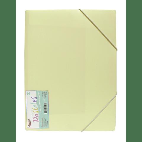 Carpeta A4 con elástico Pastel Artel