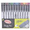 Set 12 Brush Pen 12 colores Adix
