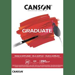 Pad Graduate Oleo y Acrílico Canson