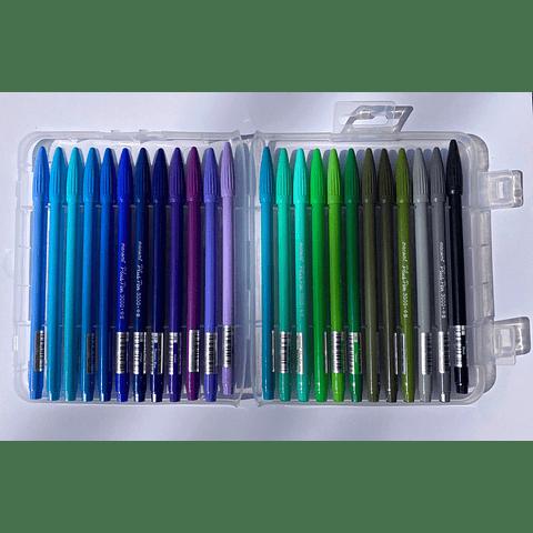 Plus Pen 3000 48 Colores Monami