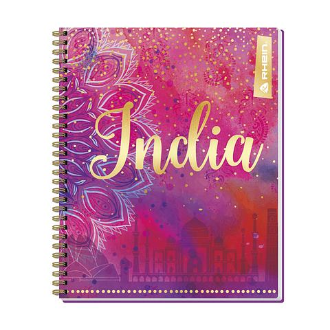 Cuaderno Universitario India Rhein