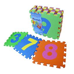 Puzzle Alfombra de Goma Eva Números