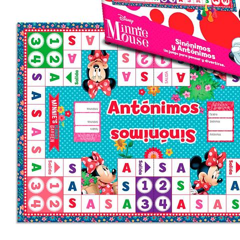 Juego Sinónimos y Antónimos Minnie Mouse