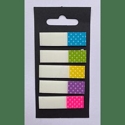Banderitas Adhesivas Lunares