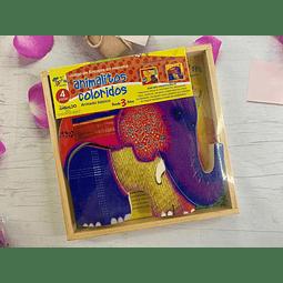 Animalitos Coloridos 4 piezas