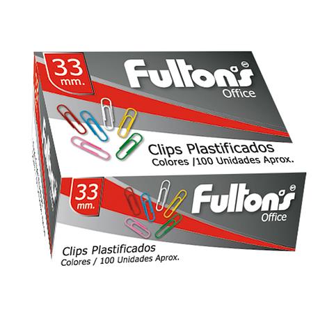 Clip Plástico 33mm. Fultons