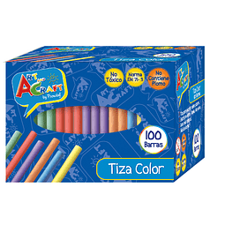 Tiza Color Art Craft 100 Unidades